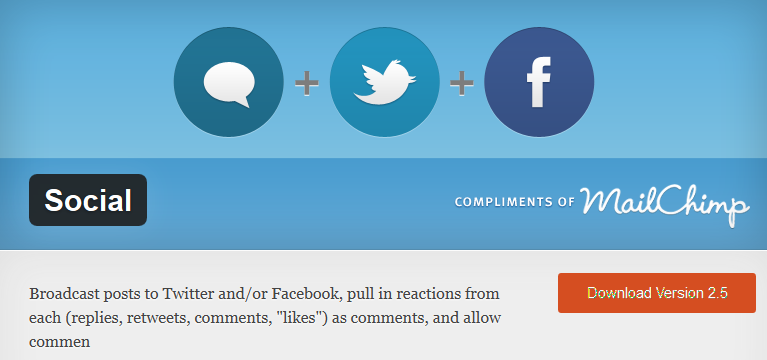 Social Plugin: integra tu blog de WordPress con Facebook y Twitter