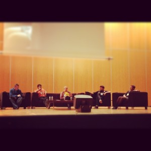 Debate: Reinventando mi profesión (@lluisnel, @digitalmeteo, @taxioviedo, @ehtio)