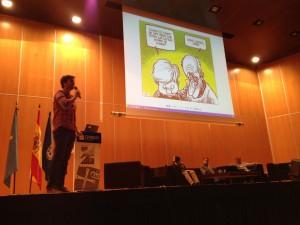 @JavierBuron presenta @SocialBro
