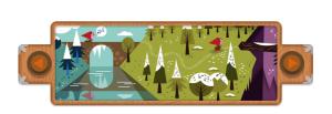 Doodle 200 aniversario de los cuentos de los hermanos Grimm