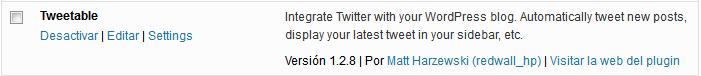 03. Tweettable - acceder a los ajustes
