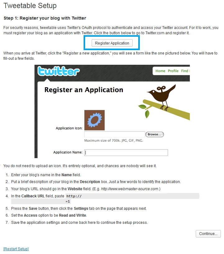 04. Tweetable - configurar plugin