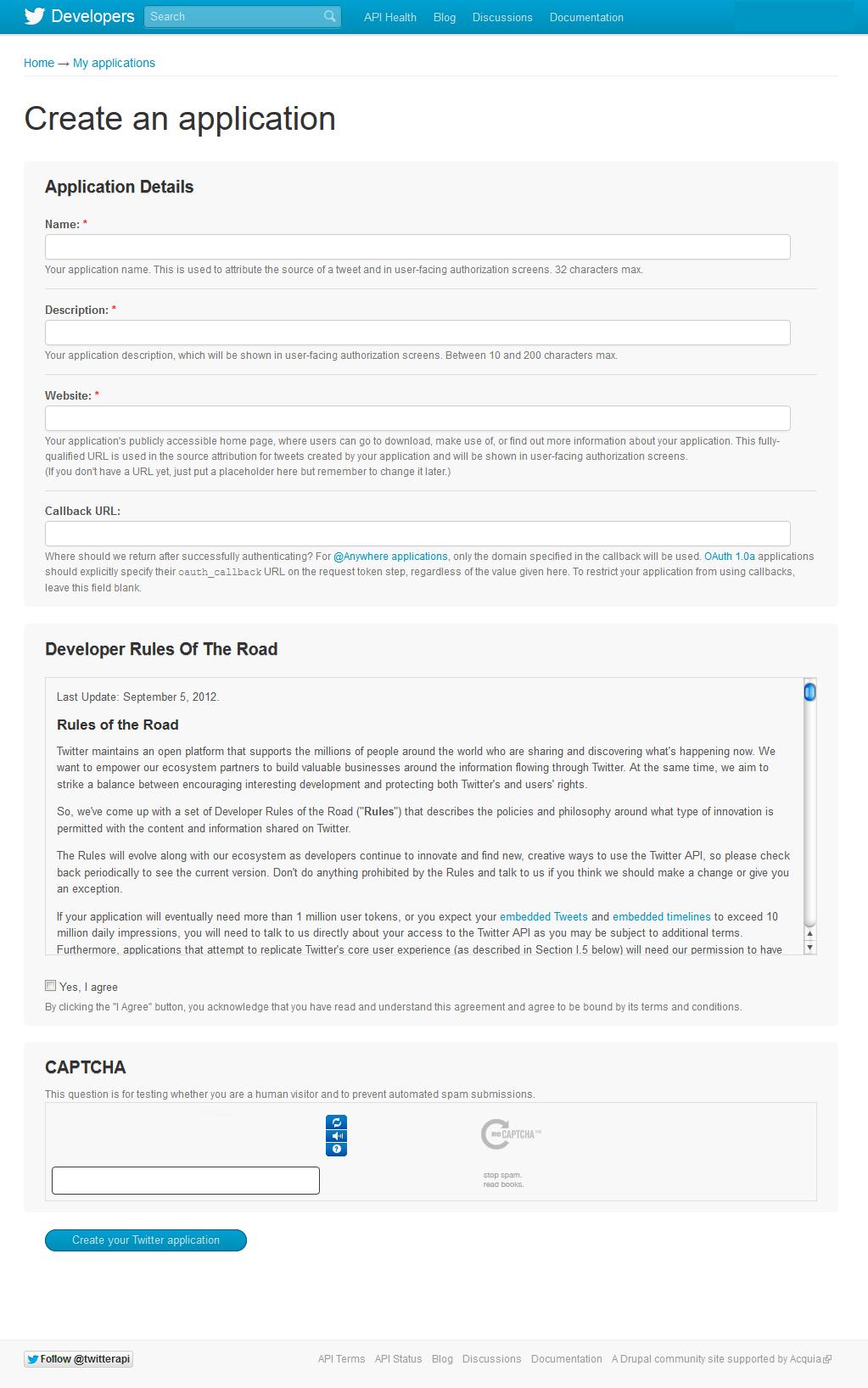 06. Tweetable - configurar aplicación