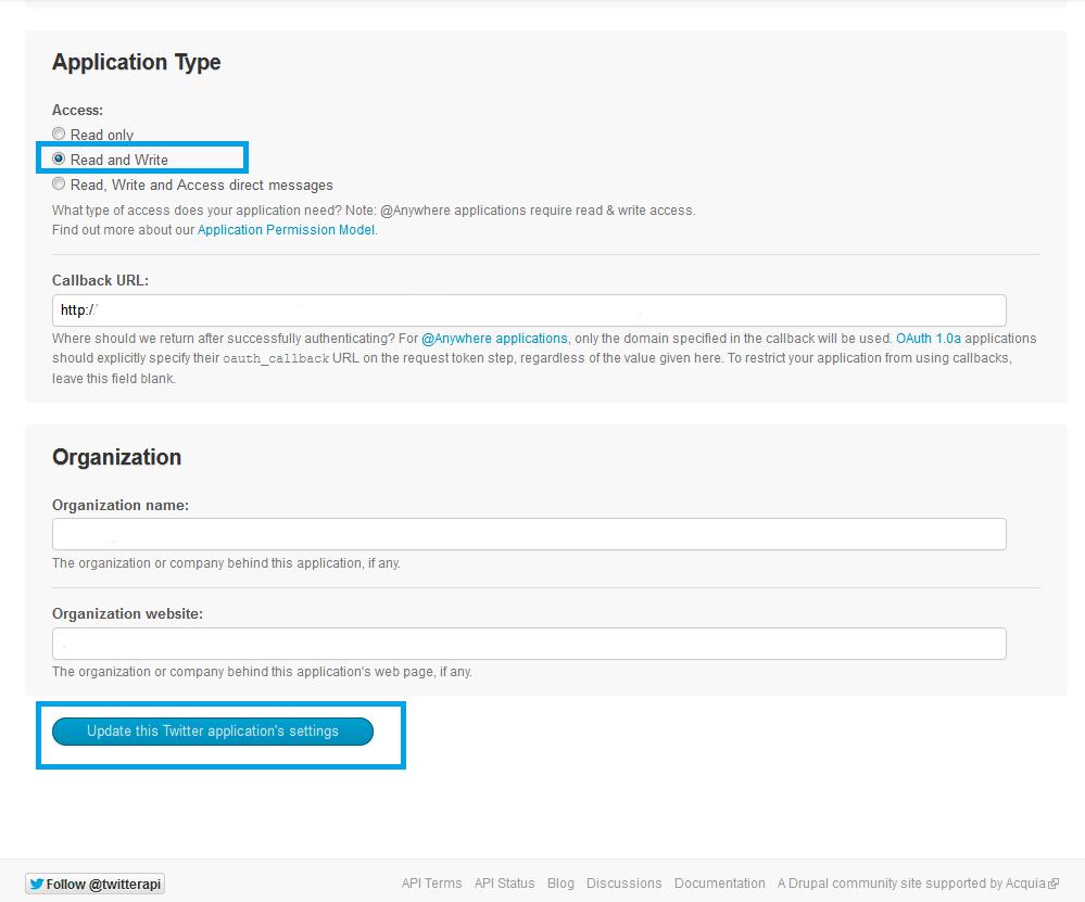 09. Tweettable - modificar permisos de lectura y escritura