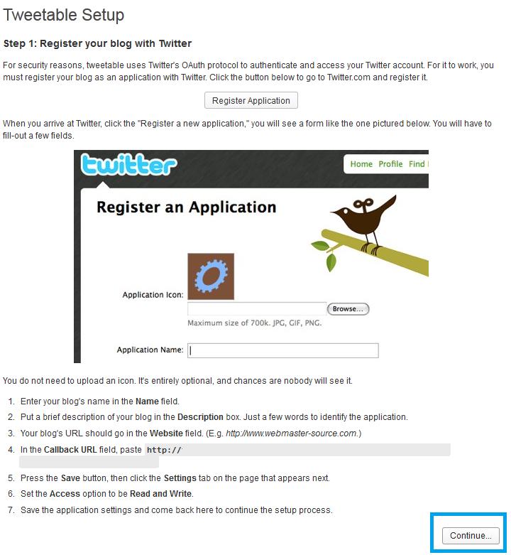 10. Tweetable - continuamos