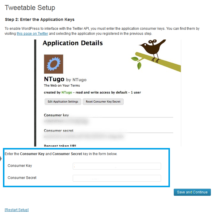 11. Tweettable - Pegar los datos que se piden
