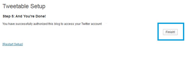 16. Tweettable - hecho