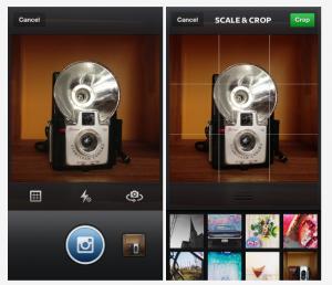 Instagram 3.2 - Mejora en la cámara