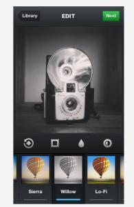 Instagram 3.2 - Willow el nuevo filtro de Instagram