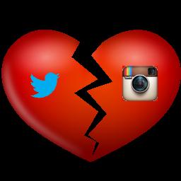 Ruptura Twitter Instagram - 2012