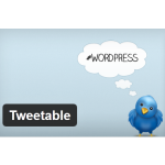 Cómo publicar un post de WordPress en Twitter: Tweetable. Plugins WordPress