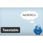 Cómo publicar un post de WordPress en Twitter: Tweetable. Plugins WordPress
