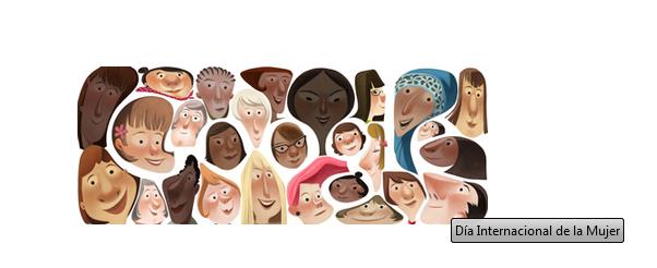 Doodle Dia Internacional de la Mujer 2013
