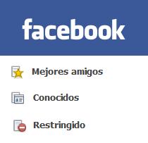 Facebook Listas
