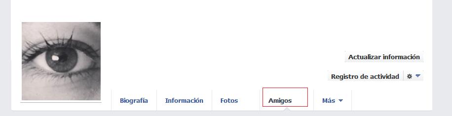 ¿Cómo oculto mis amigos de Facebook a aquellos que no son mis amigos?