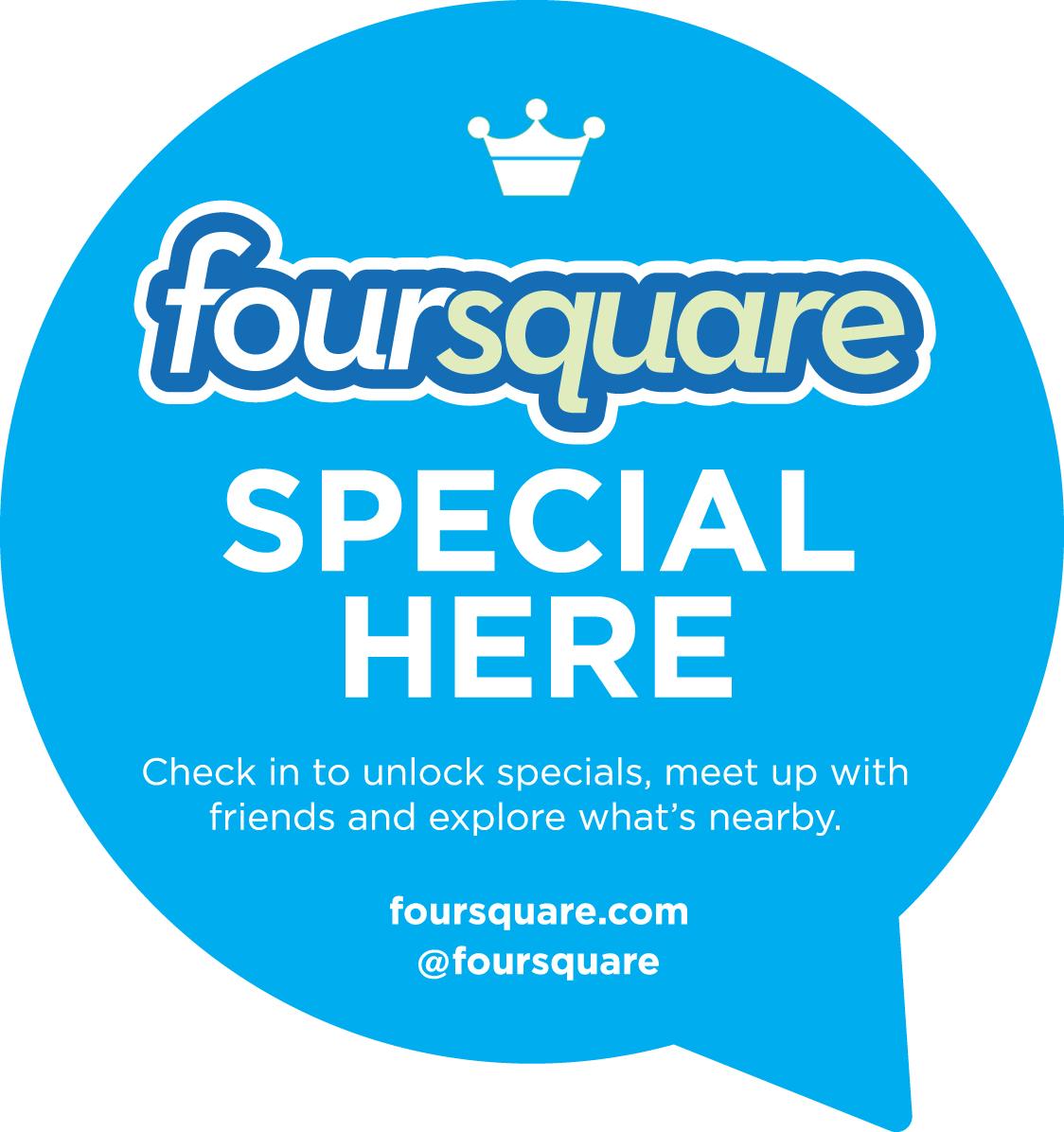 Promociones en Foursquare