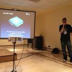 Dabo explicando las características de un servidor Cloud
