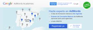 Google AdWords Academies - en Asturias el 5 y 6 de noviembre