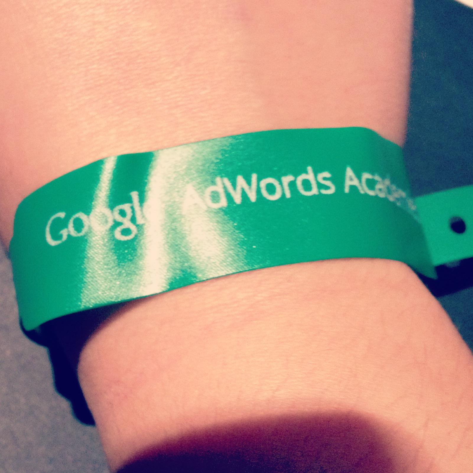 Pulsera Asistente Google Adwords Academies