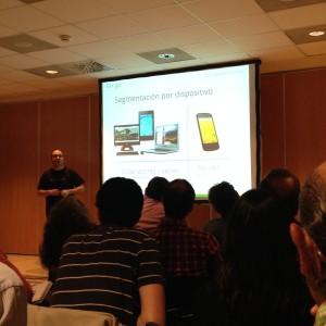 Segmentación por dispositivo - siempre se muestra en ordenadores y tablets