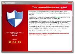 Cryptolocker - el secuestrador maligno de 2013