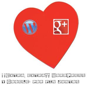 Google+ y WordPress por fin juntos