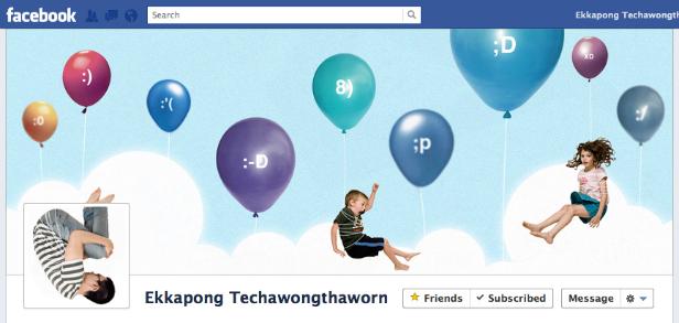 Diseño original portada Facebook - Ekkapong Techawongthaworn