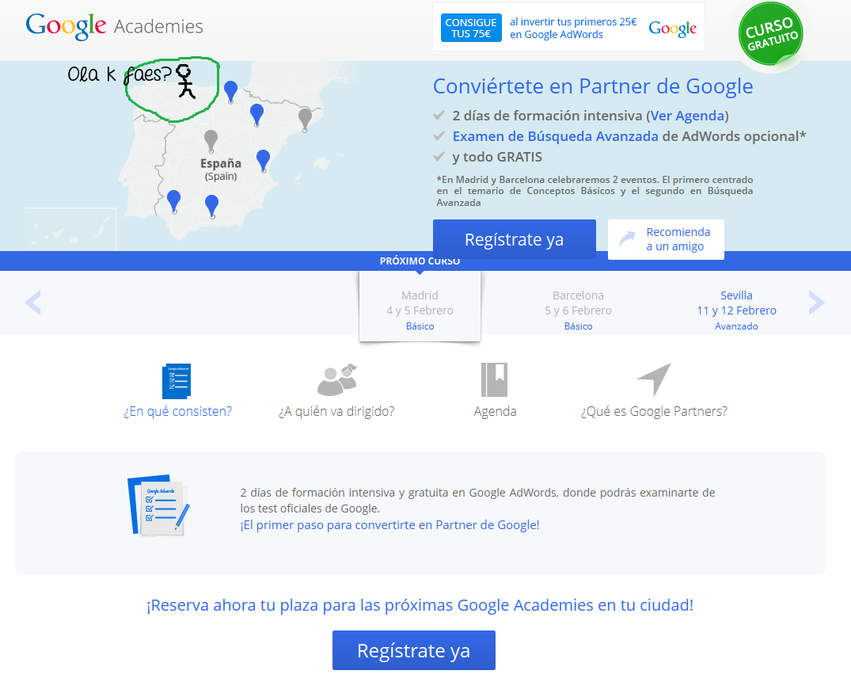 Google AdWords Academies - Agenda
