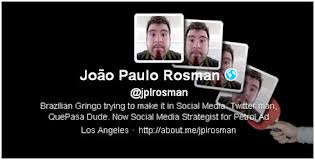 Twitter Imagen de portada y de perfil - Joao Paulo Rosman