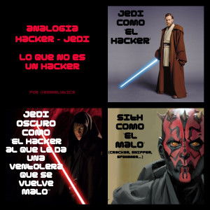 Analogía Hacker - Jedi emmafernandez.biz