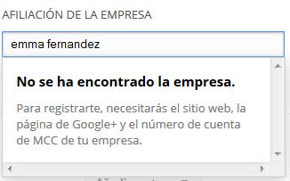 Afiliacion Google Partners