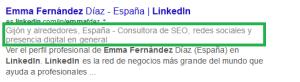 Titulo Profesional LinkedIn